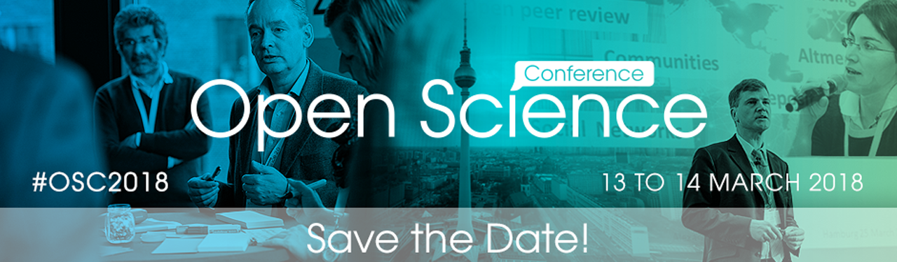 Open Science Conference 2018: Call for Project Presentations