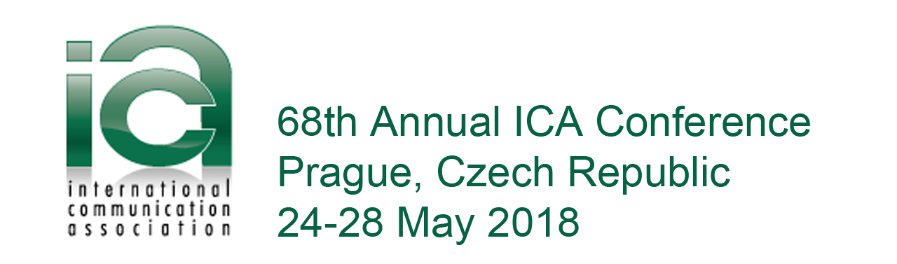 Represented With 5 Panels and 4 Presentations at the ICA 2018