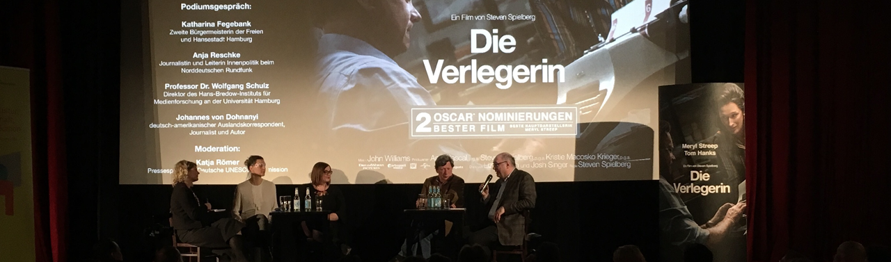 "Discussion on Freedom of the Press and Freedom of Expression after the Preview of ""The Post"""