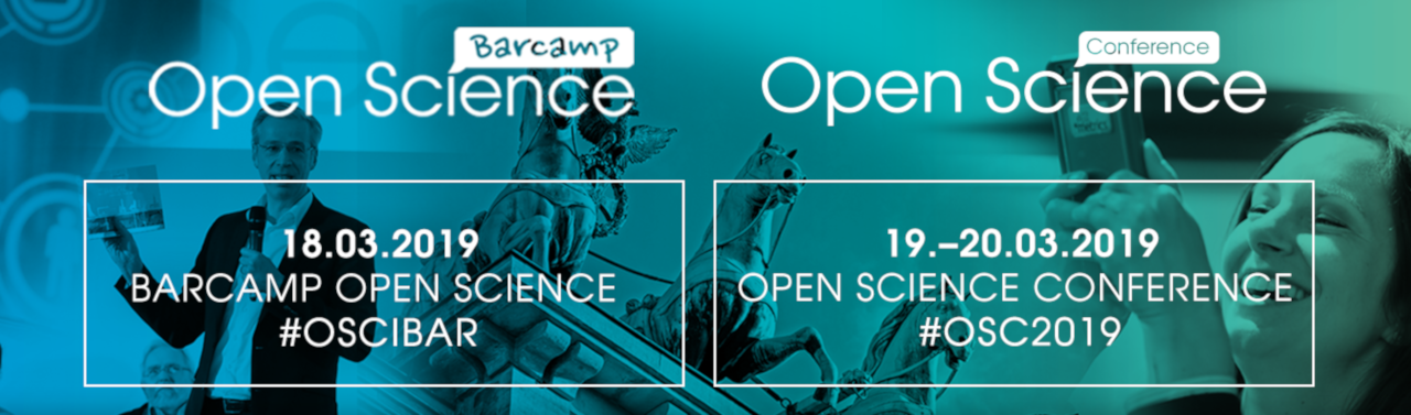 Open Science Conference 2019 & Bar Camp