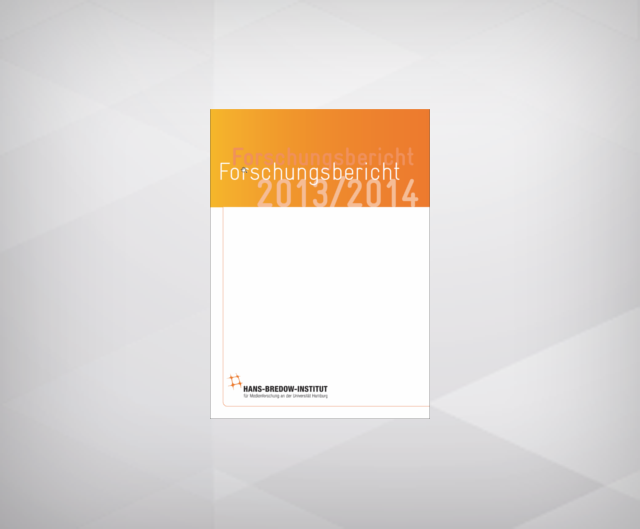 Research Report 2013/2014